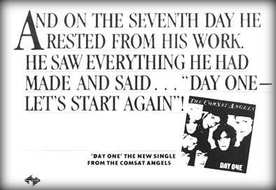 Day One advert Sounds 29/9/84